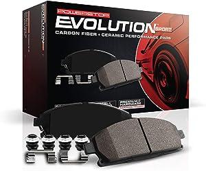 Power Stop Z23-1799, Z23 Evolution Sport Carbon-Fiber Ceramic Front Brake Pads