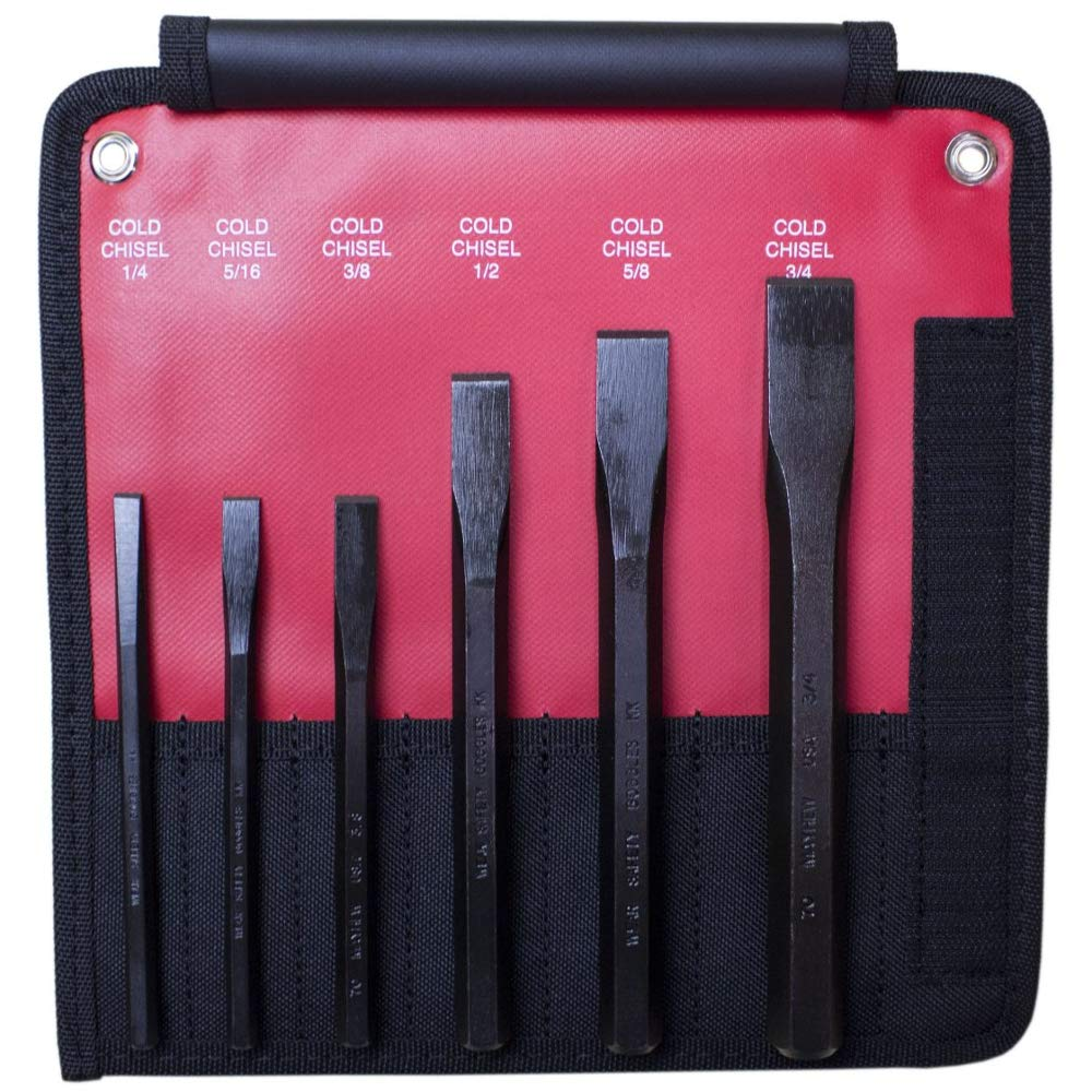 Mayhew Pro 60560 Cold Chisel Kit, 6-Piece