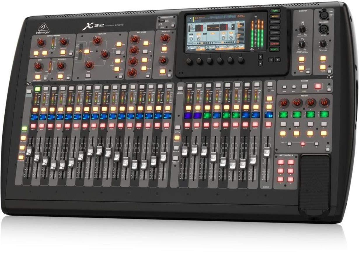 BEHRINGER, 32 40-Input 25-Bus Digital Mixing Console, Black (X32)