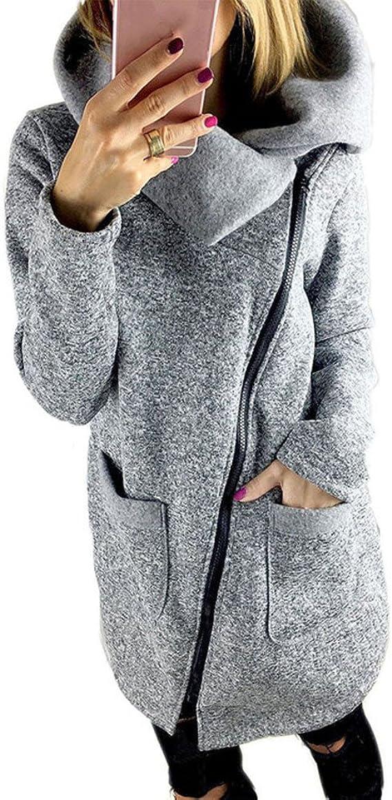 Xinantime Mujer Invierno Abrigo, Chaqueta con Capucha