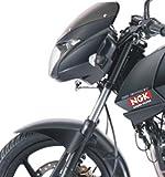 ISEE 360 NGK Sticker, Bike Sides Stem Visor Helmet Any Car Windows, Rear (Vinyl, Red and White) Pack of 2