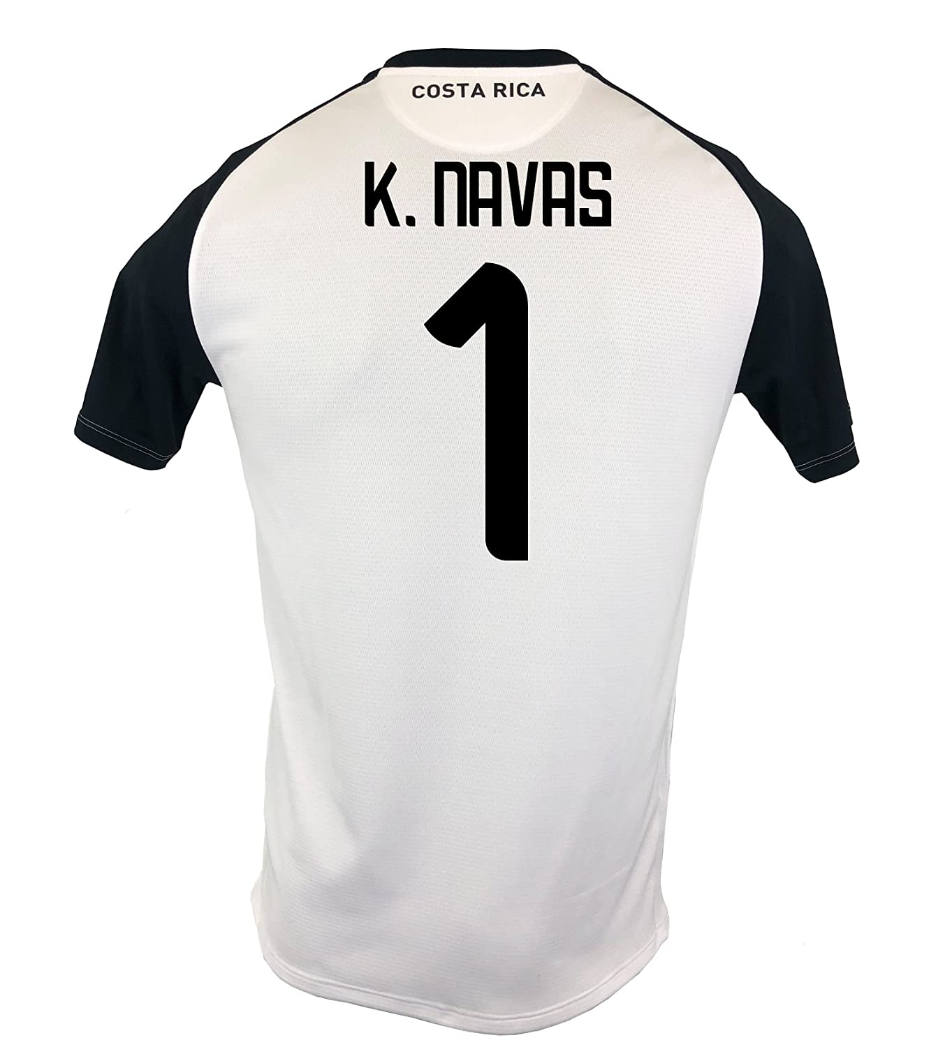 6848fb03f67 Amazon.com  New Balance K. Navas  1 Costa Rica Away Soccer Men s Jersey  FIFA World Cup Russia 2018 White