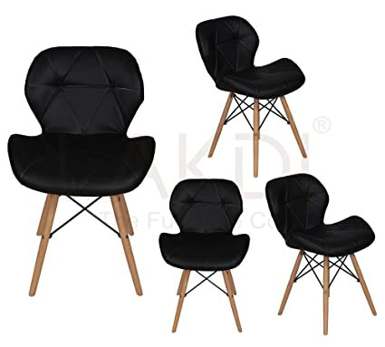 Amazing Lakdi Ormond Accent Chair Set Of 4 Combo Use For Cafe And Gmtry Best Dining Table And Chair Ideas Images Gmtryco