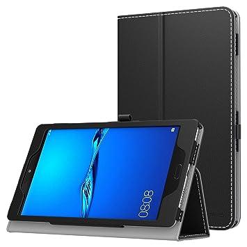 official photos 0d588 c0ec0 MoKo Huawei MediaPad M3 Lite 8.0 Case - Slim Folding Stand Cover Case for  Huawei MediaPad M3 Lite 8.0 Inch Tablet with Auto Wake/Sleep Feature, Black