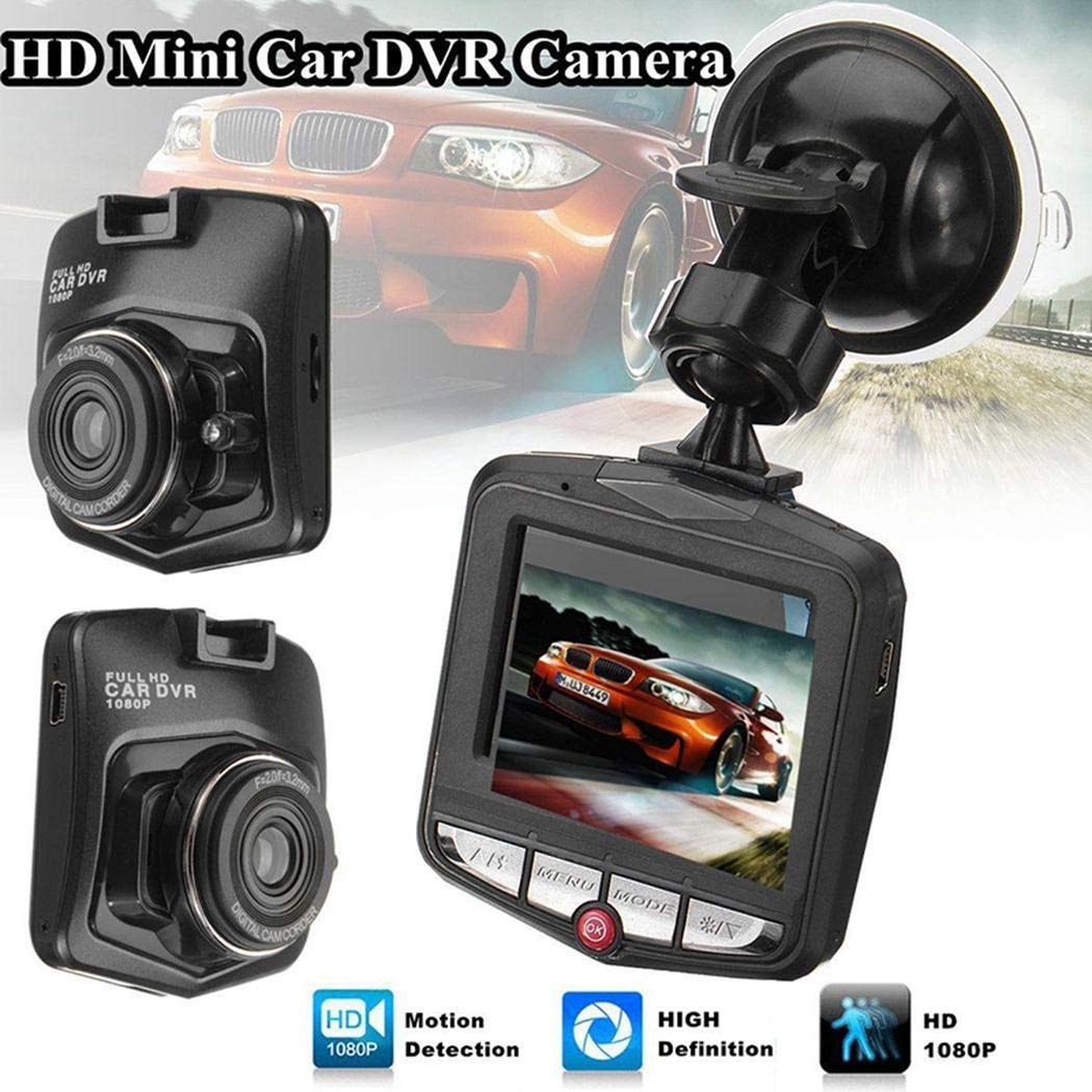 Onbio HD 1080P Auto DVR Mini Car Camera Digital Video Recorder Night Vision G-Sensor in-Visor Video