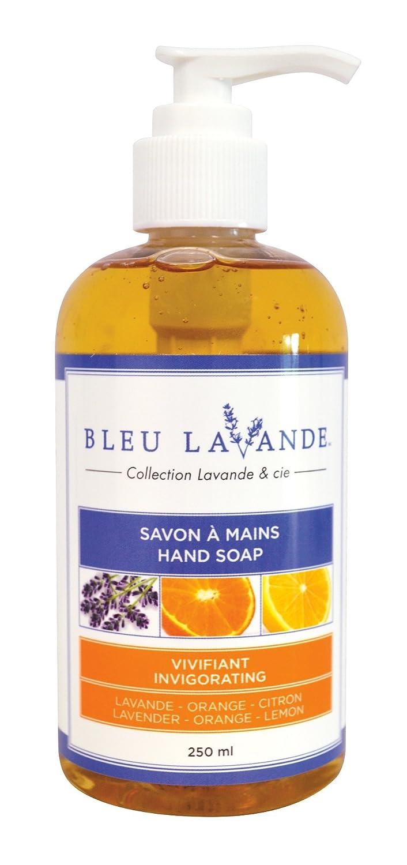 Bleu Lavande Lavender, Orange and Lemon Hand Soap 250 Milliliters