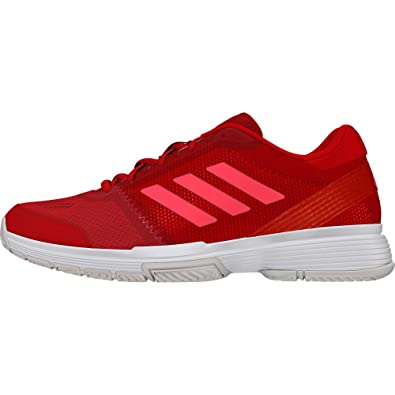 sports shoes 0bf27 2badd adidas Barricade Club W Chaussures de Tennis Femme, Rouge  (EscarlRojdesFtwbla