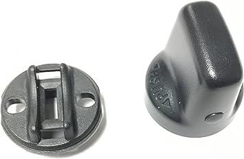 Naliovker Tapa e Inserto de la Perilla del Interruptor de Encendido para Keyless Lancer Outlander 4408A167 4408A031