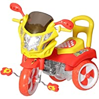 Tricycle for Kids with under seat storage space, Lights and Music