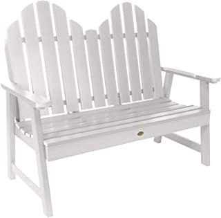 product image for highwood AD-BEN-CW1-WHE Classic Westport Garden Bench, 4ft, White