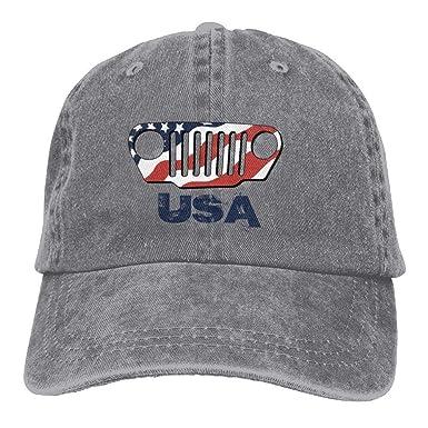 Gorra de béisbol Ajustable para Hombre American Jeep: Amazon.es ...