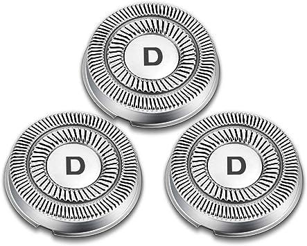 DynaBliss DBS220 Cabezal de Recambio para Afeitadora Eléctricas DB20,Set de 3: Amazon.es: Salud y cuidado personal
