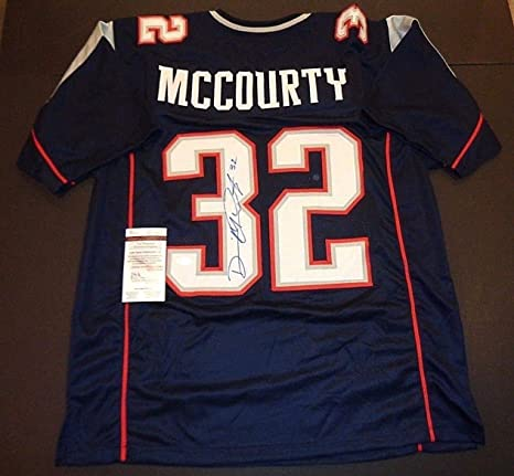 Devin Mccourty New England Patriots Autographed Signed Custom Style Jersey  XL Coa - JSA Authentic Memorabilia at Amazon s Sports Collectibles Store 0f09e3718