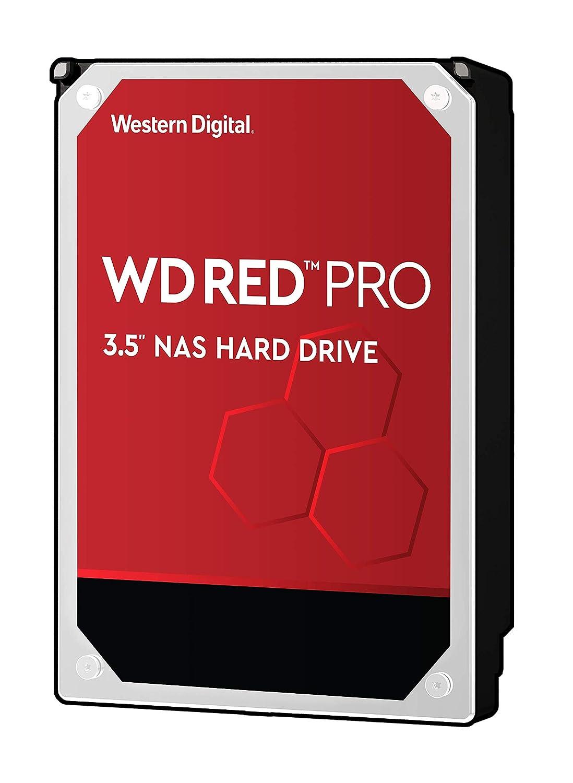 """WD Red Pro 6TB NAS Internal Hard Drive - 7200 RPM Class, SATA 6 Gb/s, 256 MB Cache, 3.5"""" - WD6003FFBX"""