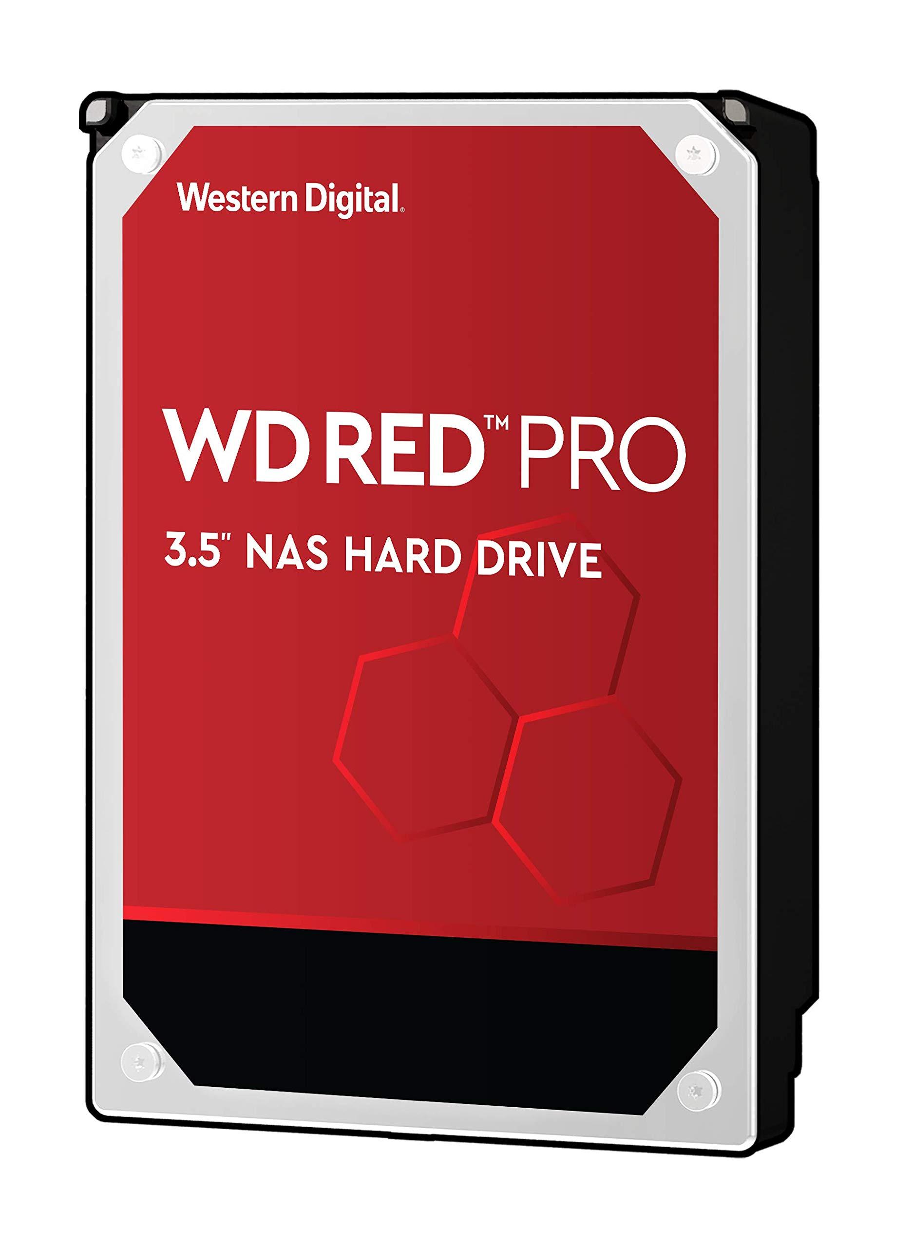 WD Red Pro 4TB NAS Internal Hard Drive - 7200 RPM Class, SATA 6 Gb/s, 256 MB Cache, 3.5'' - WD4003FFBX