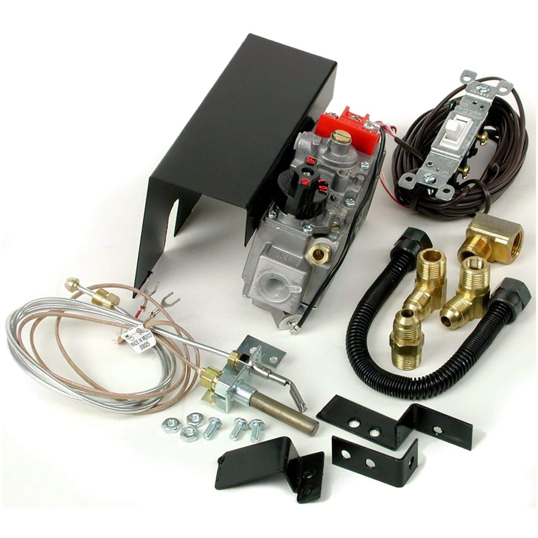 Rasmussen Low Capacity Millivolt Switch Safety Pilot Valve Kit, Natural Gas - (RPK3-N) by Rasmussen