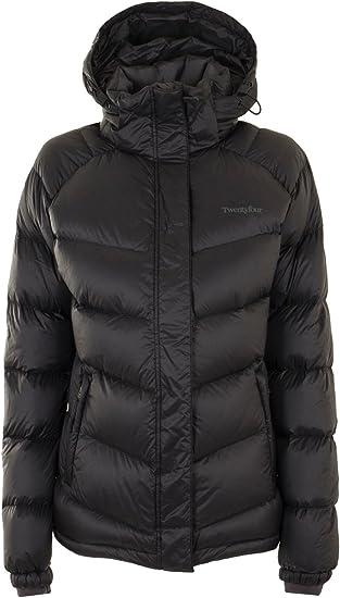 Twentyfour Damen Daunen Jacke Vail Leichte, Sehr warme Daunenjacke mit 700 Cuin (Sehr Hohe Bauschkraft), 90% Daunen und Abnehmbarer Kapuze