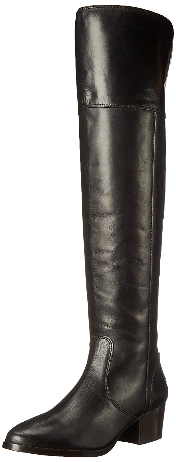 FRYE Women's Clara OTK Leather Slouch Boot B018YLY98A 7.5 B(M) US|Black
