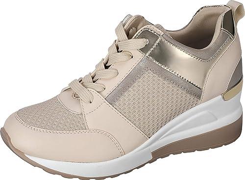 Chaussures de marche /à enfiler pour femme en maille l/ég/ère et confortable