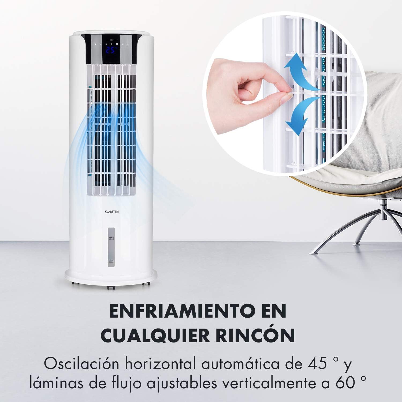 Klarstein Skyscraper Horizon White Edition - Enfría, ventila y ...