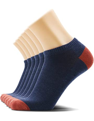 f200b4076 SOXTOWN Men's No Show Athletic Cotton Socks,6 Pairs Super Soft Durable Low  Cut Casual