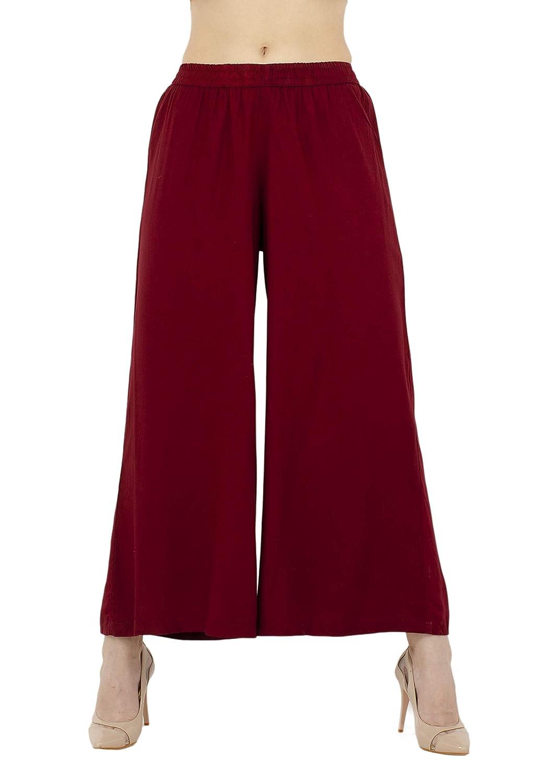Lagi Women Plazo Plazzo Bottom Wear Ethnic Palazzo Pants Trousers with Kurti Kurtis Kurta …
