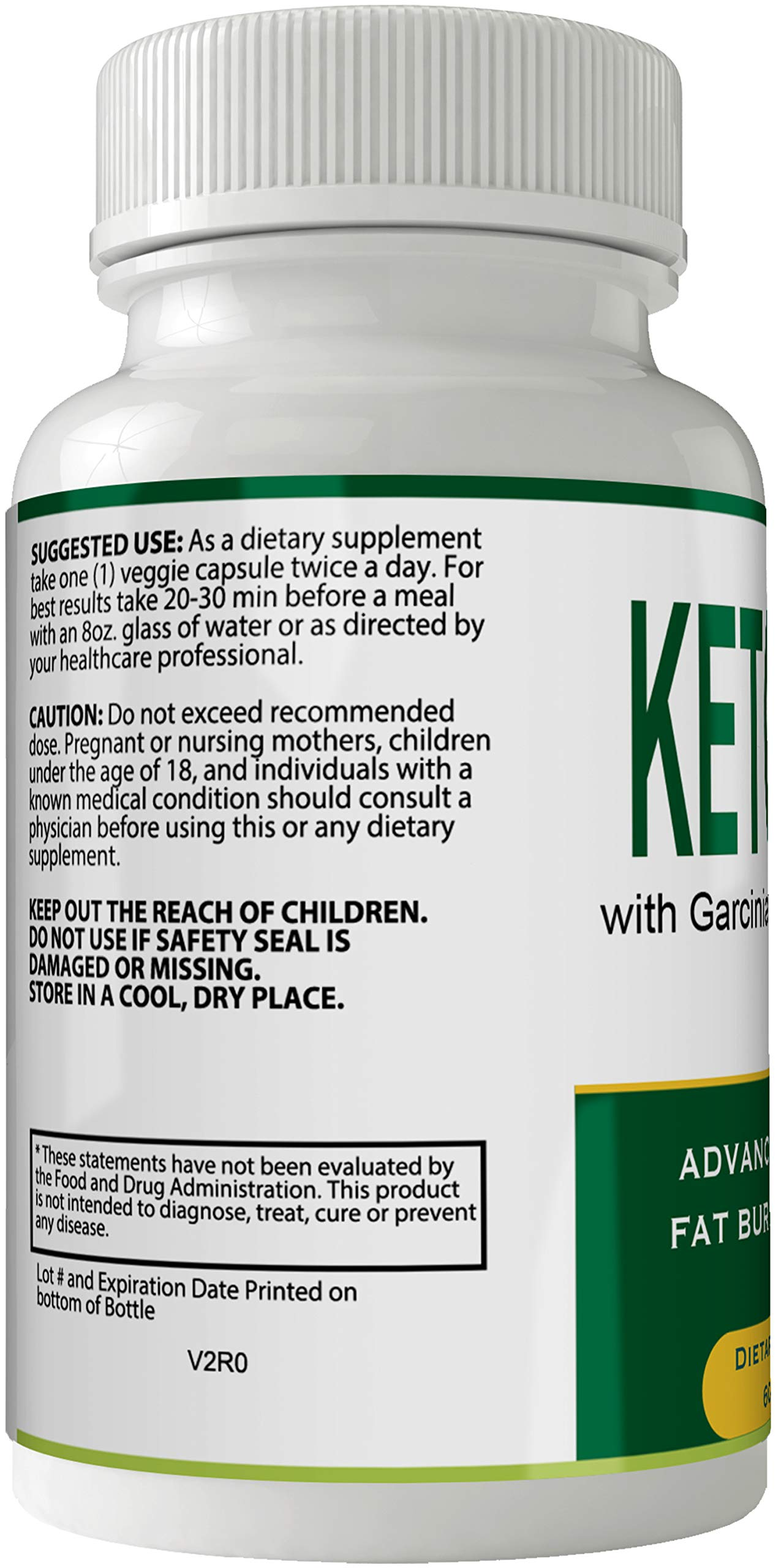 Keto Flex Weight Loss Pills Diet Capsules with Garcinia Cambogia, Weightloss Lean Fat Burner, Advanced Thermal Fat Loss Supplement for Women and Men by nutra4health LLC (Image #3)
