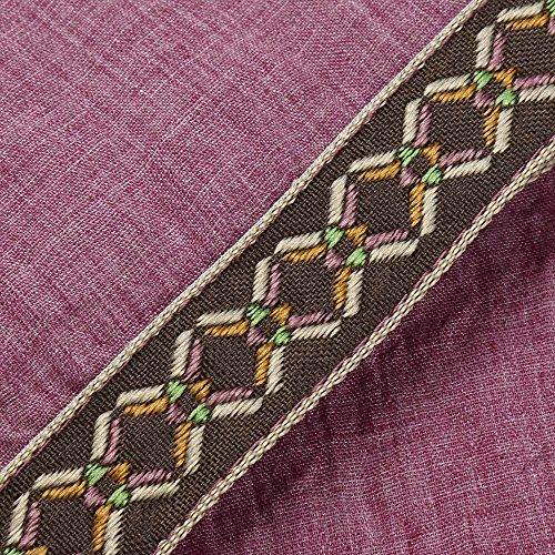 Da Camicie Scollo V Tradizionali A Camicetta Corte Magliette Manica Corta Maniche Rosa Con Uomo Beikoard Lino Di x5nXq7Hf