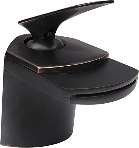 Novatto WAVE Single Lever Waterfall Lav Faucet, Oil Rubbed Bronze