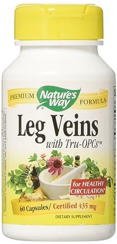 Natures Way Leg Veins Support Blend, 60 ct