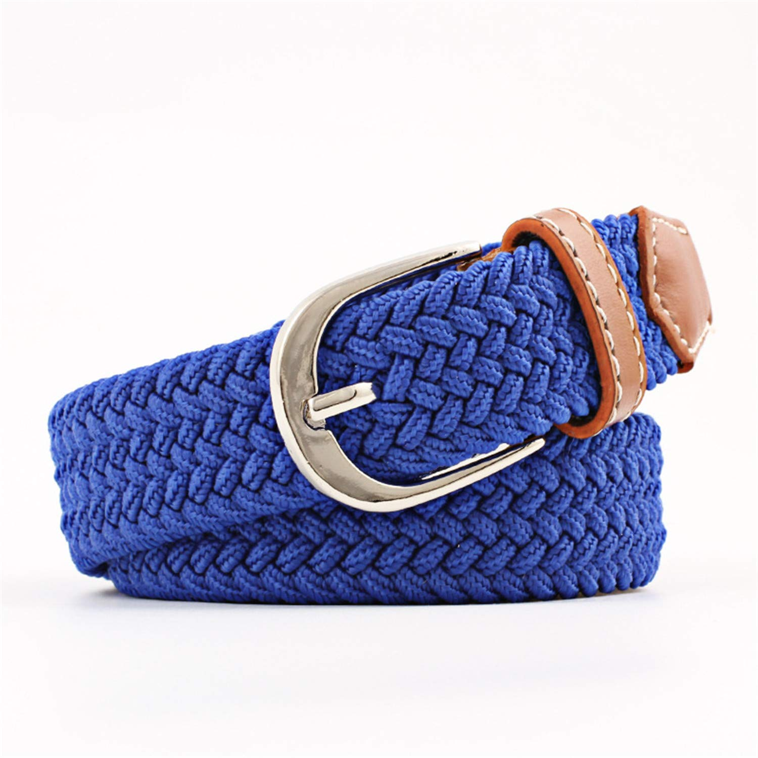 Real Rushed Adult Solid 100-120cm Casual Stretch Woven Belt Elastique Modeling