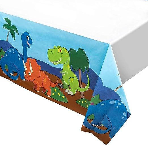 Juvale Dinosaurio de plástico Mantel - 3-Party Pack Dino 54 ...