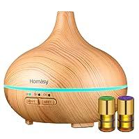 Homasy Humidificador Aromaterapia Ultrasónico