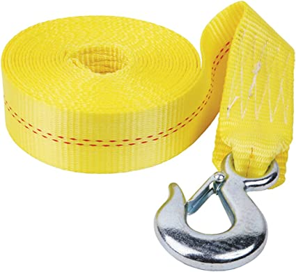 WS20 0700 Fulton 2 x 20 Winch Strap with Hook
