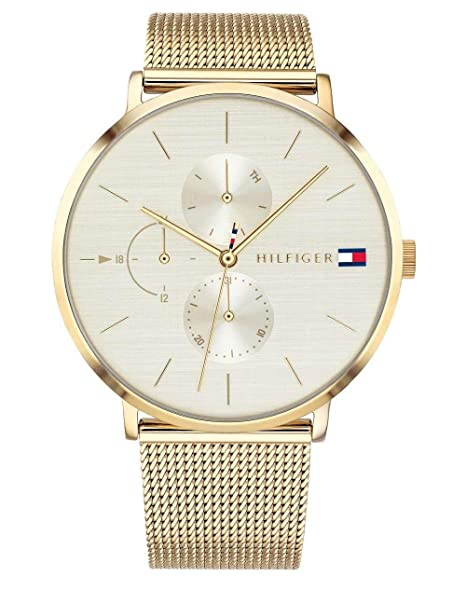 Amazon.com: Tommy Hilfiger JENNA CASUAL 1781944 Wristwatch for women: Watches