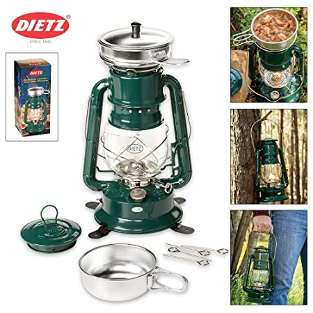 Crownplace Brands Dietz Oil Lantern Cooker – Green