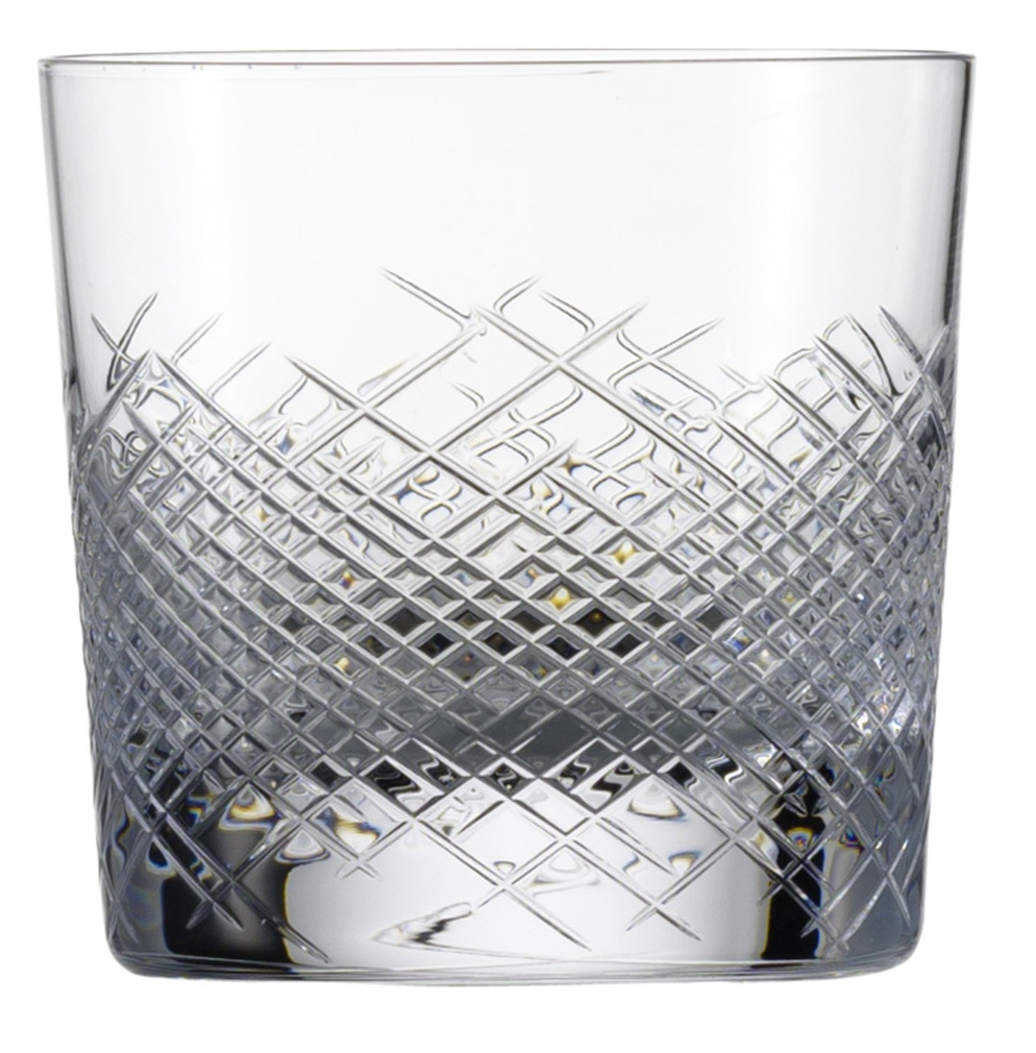 Zwiesel 1872 Charles Schumann Hommage Collection Comete Handmade Glass Large Whiskey Cocktail Glass, 13.4-Ounce, Set of 2