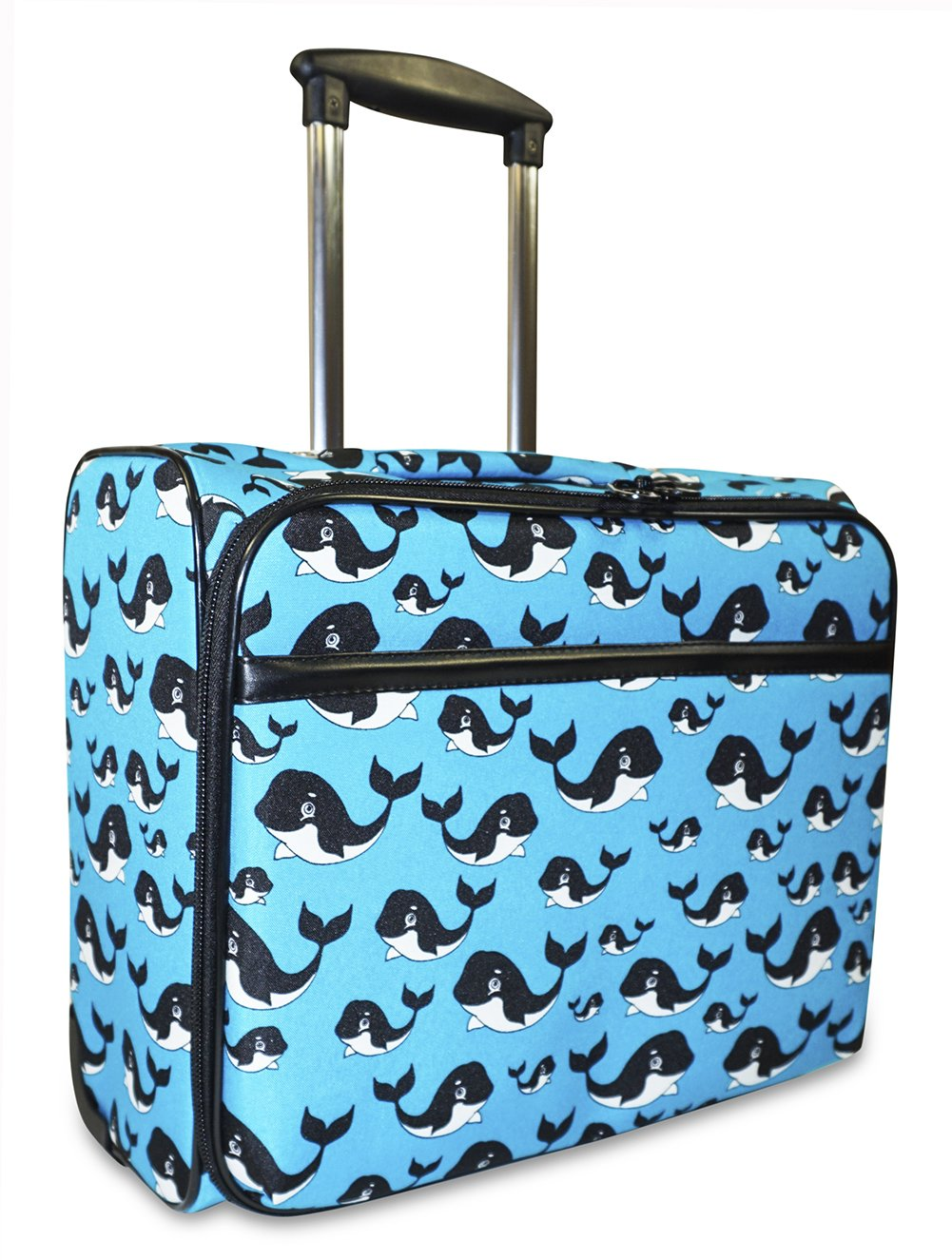 Ever Moda Whale Rolling Wheeled Laptop Case
