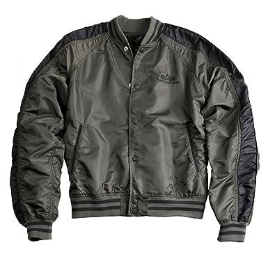 save off 2ba56 e29c0 Alpha Industries Westpoint Lw College Jacke Olive: Amazon.de ...