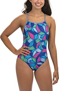 485e5b4bb70 Amazon.com: Dolfin Women's AQUASHAPE Zip-Front ONE-Piece Swimsuit ...