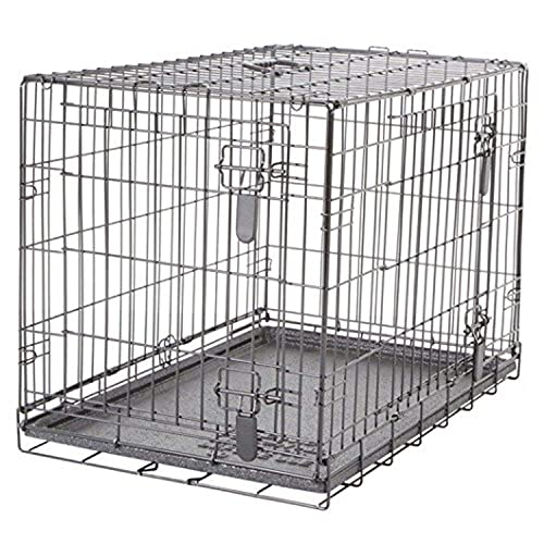 Dogit 2-Door Wire Home Dog Crate with Divider, Large