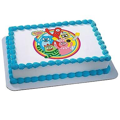Amazon Yo Gabba Dancey Dance Edible Icing Cake Topper