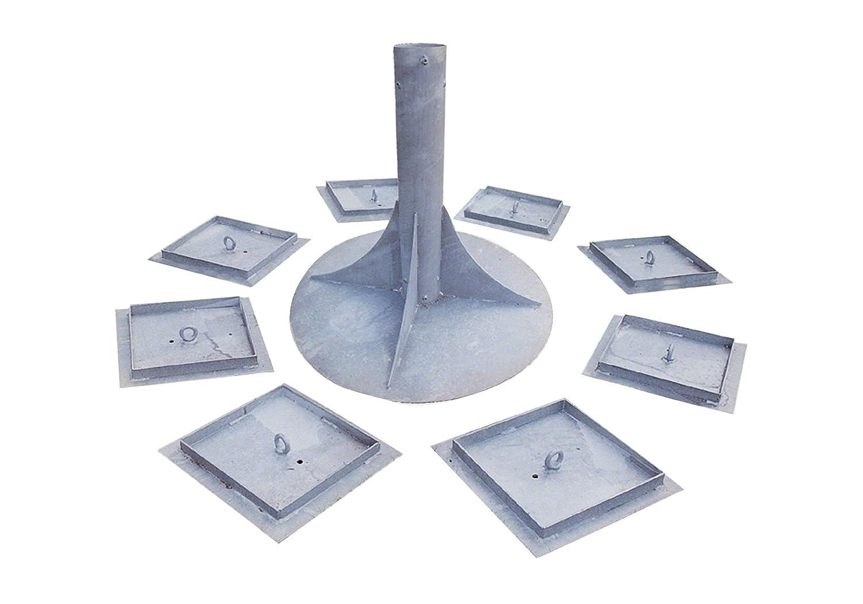 Huck Eingrab-Erdankerset für Cheops-Pyramiden, Für Cheops-Pyramide Midi