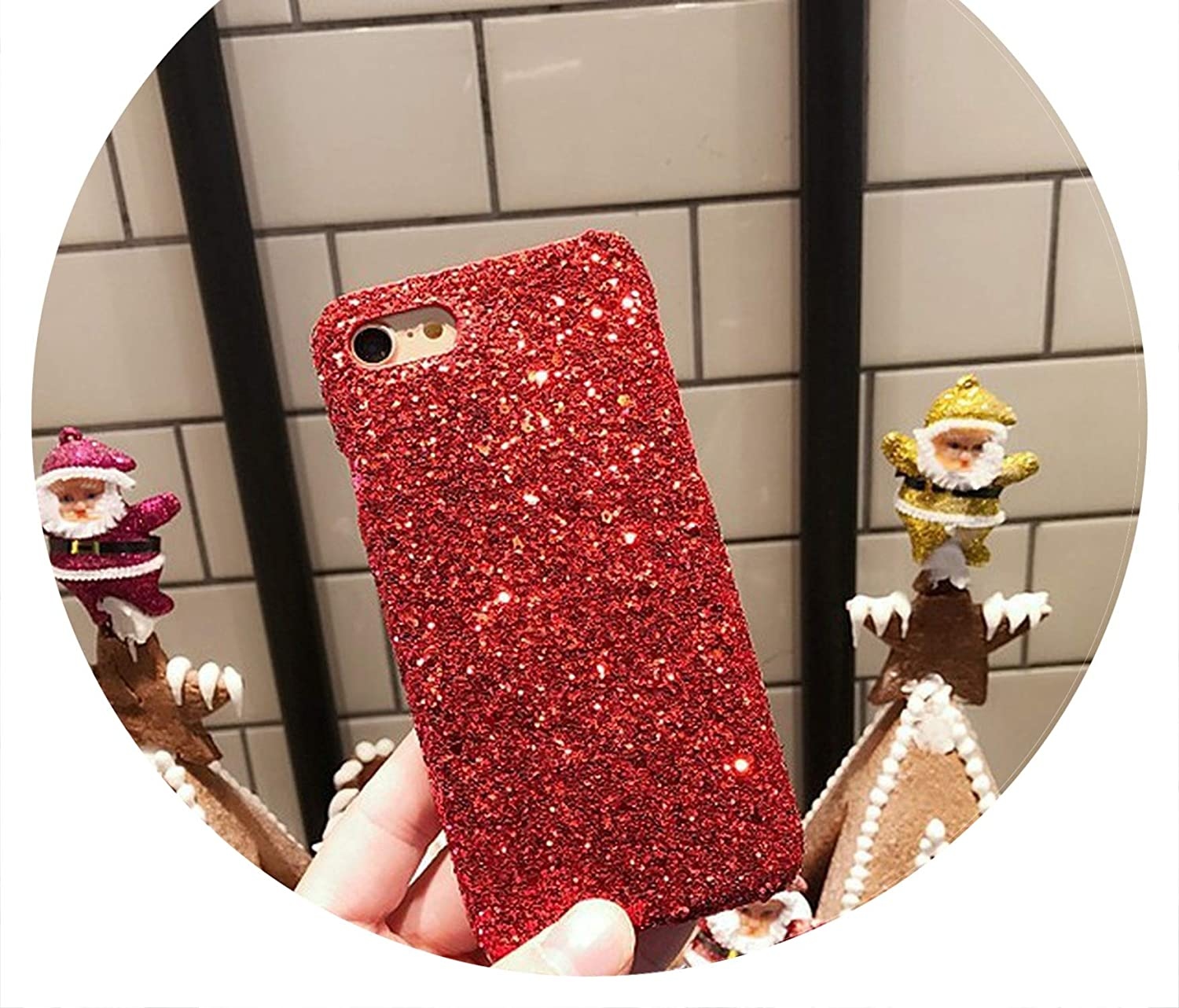 Amazon.com: Bling Glitter Cases for iPhone 7 Original Hard ...