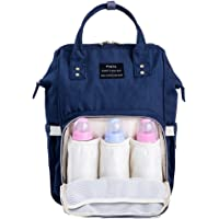 Diaper Bag Nappy Backpack Changing Bag with Large Capacity Waterproof Multi-Function for Baby Care Stylish and Durable…