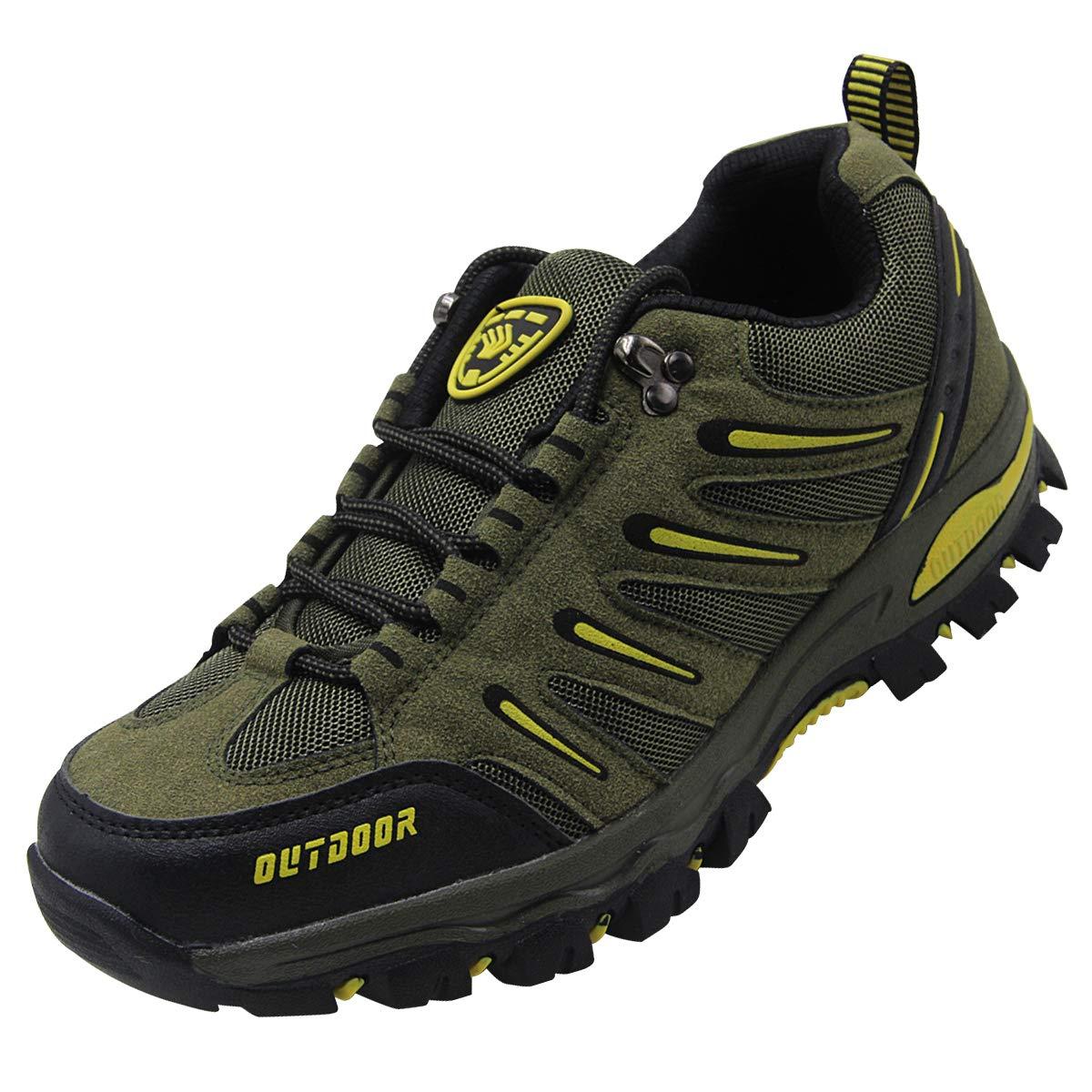 BomKinta Men\'s Hiking Shoes Anti-Slip Lightweight Breathable Quick-Dry Trekking Shoes for Men K999-2