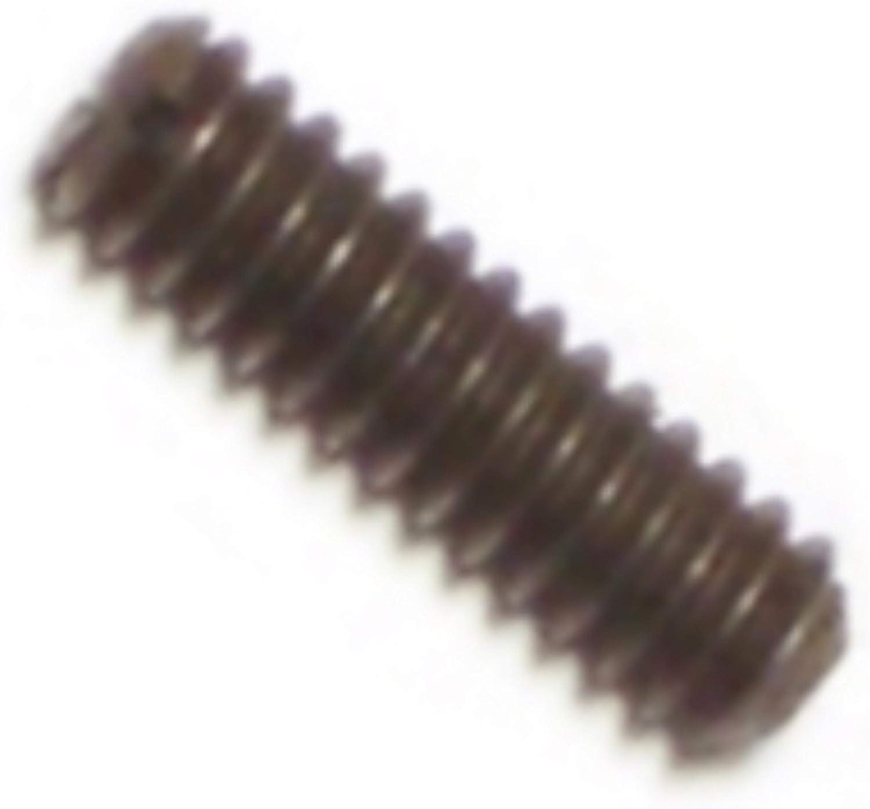 Piece-20 Hard-to-Find Fastener 014973312800 Slotted Headless Set Screws 1//4-20 x 3//8