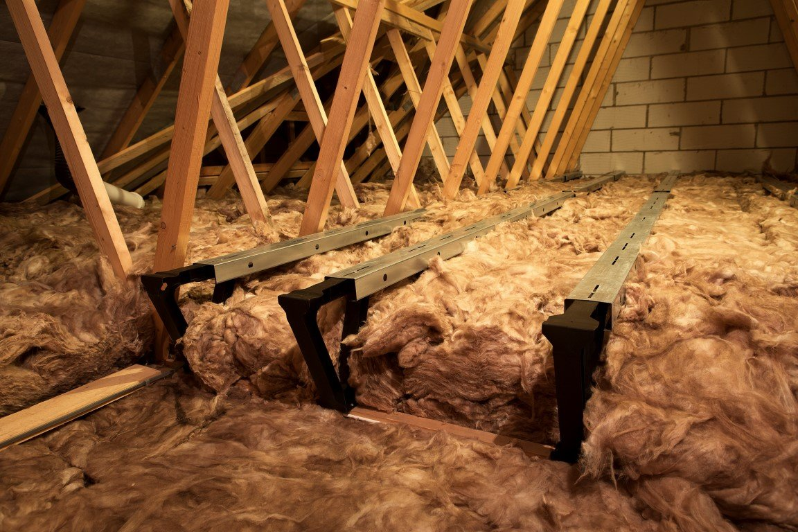 Loft Insulation Spacer and Loft Storage / Boarding (3m2 kit, without boards) LoftZone