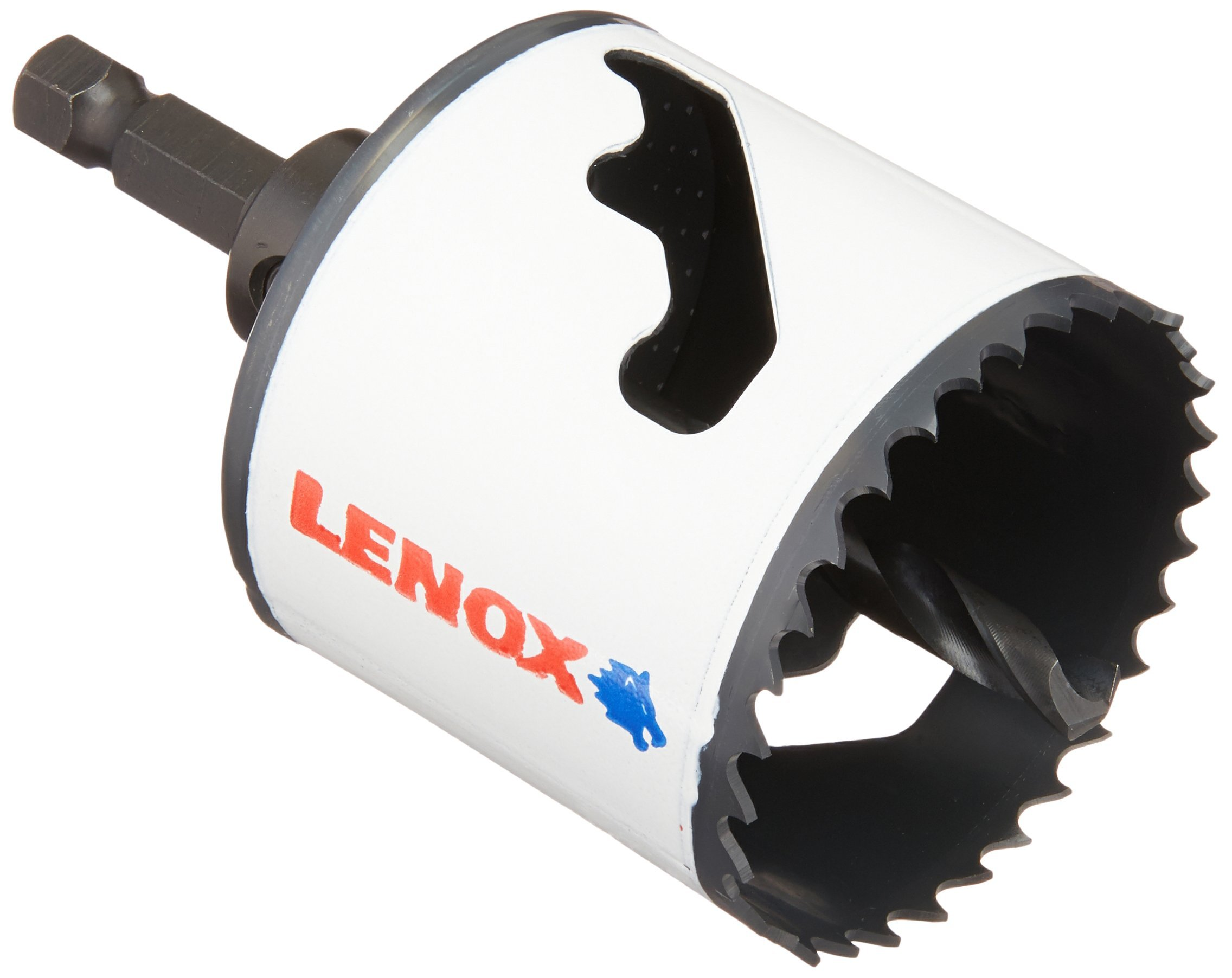 LENOX Tools Bi-Metal Speed Slot Arbored Hole Saw with T3 Technology, 2-1/8''