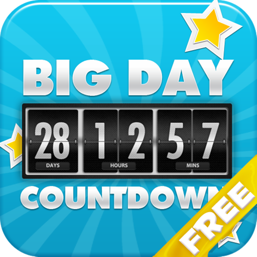 [Big Days of our Lives Countdown Free version - Digital Event Count Down Clock with HD full screen background (for counting how many days and time to go, until your dream] (Halloween Backgrounds Free)